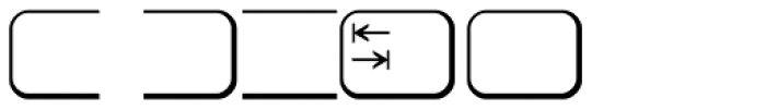 Keys PC Deutsch Alt Font OTHER CHARS
