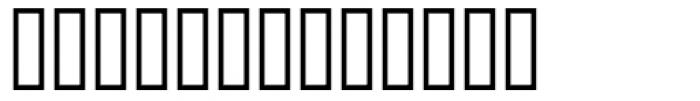 Keystrokes MT Font LOWERCASE