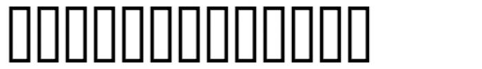 Keystrokes Shadow MT Font LOWERCASE