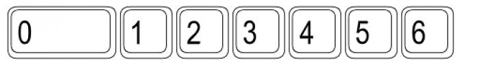 Keystrokes Std Extra Font OTHER CHARS