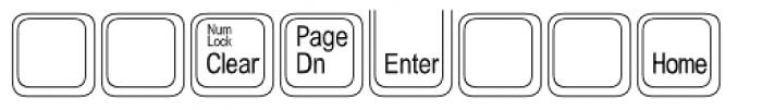 Keystrokes Std Extra Font LOWERCASE