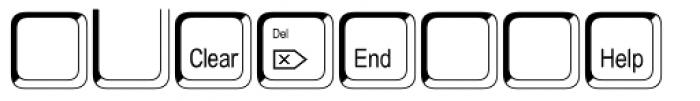 Keystrokes Std Shadow Extra Font UPPERCASE