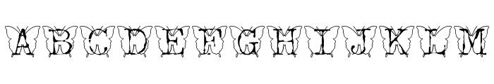 KFB Font UPPERCASE