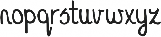 KG A Thousand Years ttf (400) Font LOWERCASE
