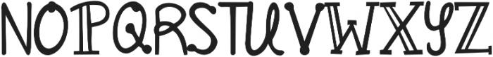 KG All Things New ttf (100) Font UPPERCASE