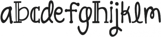 KG All Things New ttf (100) Font LOWERCASE