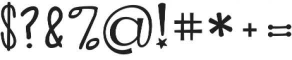 KG Alphabet Regurgitation Regular otf (400) Font OTHER CHARS