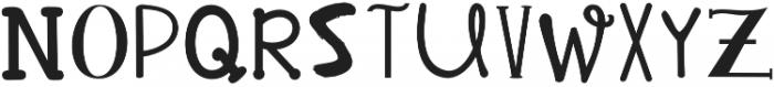 KG Alphabet Regurgitation Regular otf (400) Font UPPERCASE