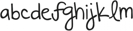 KG Always A Good Time ttf (400) Font LOWERCASE