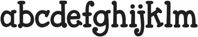KG Attack of the Robots ttf (400) Font LOWERCASE