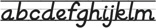 KG Be Still And Know ttf (400) Font LOWERCASE