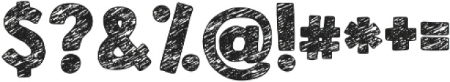KG Broken Vessels Sketch ttf (400) Font OTHER CHARS