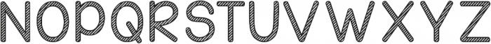 KG Candy Cane Stripe ttf (400) Font UPPERCASE