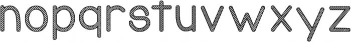 KG Candy Cane Stripe ttf (400) Font LOWERCASE