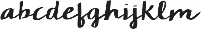 KG Chelsea Market Script ttf (400) Font LOWERCASE