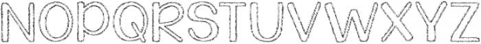 KG Daylight ttf (300) Font UPPERCASE