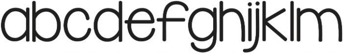 KG Domo is my FAVORITE ttf (400) Font LOWERCASE