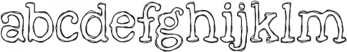 KG Faith Hope and Love ttf (400) Font LOWERCASE