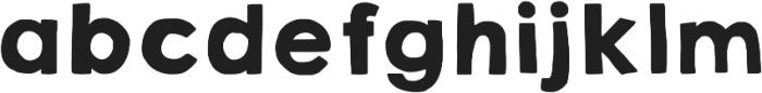 KG HAPPY Solid ttf (400) Font LOWERCASE