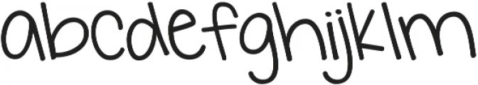 KG I Want Crazy otf (400) Font LOWERCASE