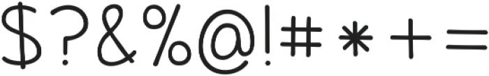 KG June Bug Reverse ttf (400) Font OTHER CHARS