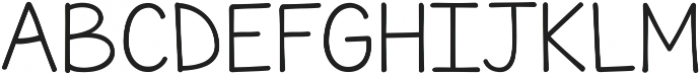 KG June Bug Reverse ttf (400) Font UPPERCASE