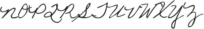 KG Love Somebody TWO ttf (400) Font UPPERCASE