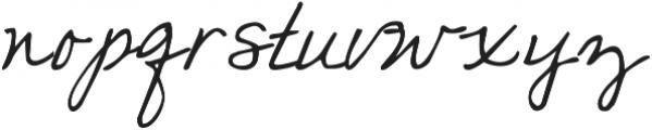 KG Love Somebody TWO ttf (400) Font LOWERCASE
