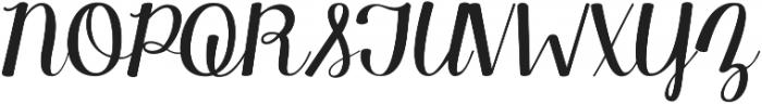 KG Manhattan Script ttf (400) Font UPPERCASE