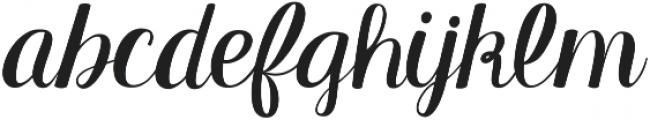 KG Manhattan Script ttf (400) Font LOWERCASE