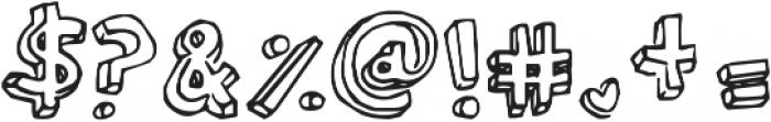 KG Modern Monogram ttf (400) Font OTHER CHARS