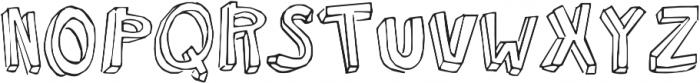 KG Modern Monogram ttf (400) Font UPPERCASE