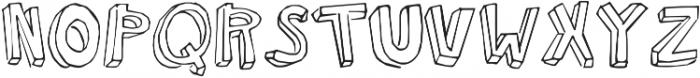 KG Modern Monogram ttf (400) Font LOWERCASE