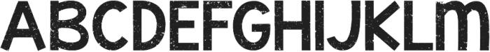 KG Mullally ttf (400) Font UPPERCASE