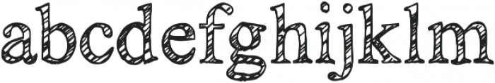 KG No Regrets Sketch ttf (400) Font LOWERCASE