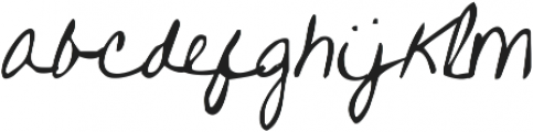 KG One More Night ttf (400) Font LOWERCASE