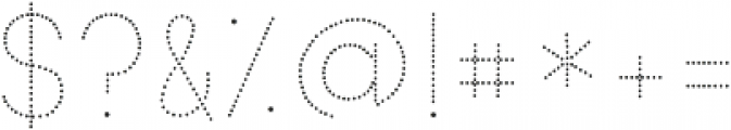 KG Primary Dots ttf (400) Font OTHER CHARS