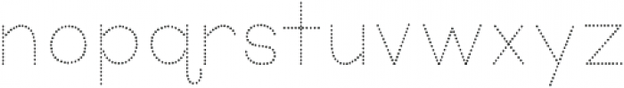 KG Primary Dots ttf (400) Font LOWERCASE