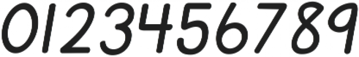 KG Primary Italics ttf (400) Font OTHER CHARS