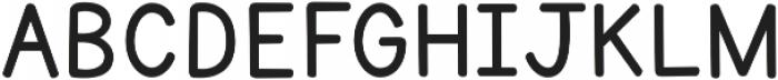 KG Primary Penmanship 2 ttf (400) Font UPPERCASE