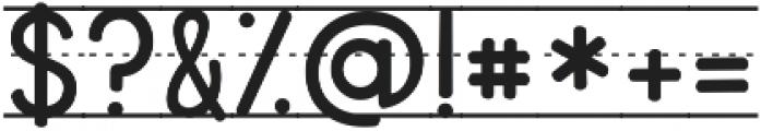 KG Primary Penmanship Lined ttf (400) Font OTHER CHARS