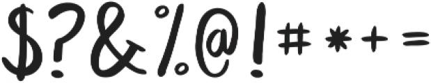 KG Satisfied Script ttf (400) Font OTHER CHARS