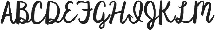 KG Satisfied Script ttf (400) Font UPPERCASE