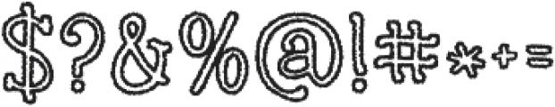 KG Skinny Love ttf (400) Font OTHER CHARS