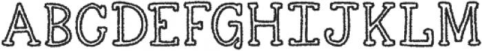 KG Skinny Love ttf (400) Font UPPERCASE