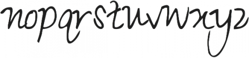 KG Small Town Southern Girl ttf (400) Font LOWERCASE