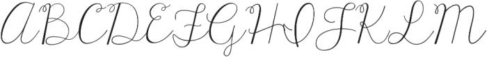 KG Tangled Up In You Regular ttf (400) Font UPPERCASE
