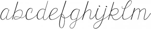 KG Tangled Up In You Regular ttf (400) Font LOWERCASE