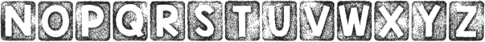 KG Thank You Stamp ttf (400) Font UPPERCASE