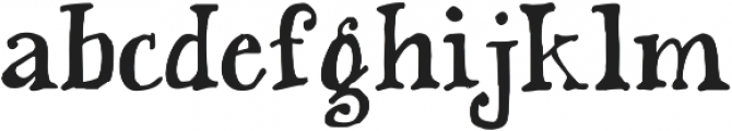 KG This Is Not Goodbye ttf (400) Font LOWERCASE